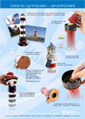 souvenir, lighthouse, handmade, candel holder, suvena, handicraft.