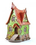 Handmade ceramic houses