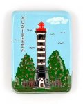 magnet, Klaipeda, lighthouse, souvenir.