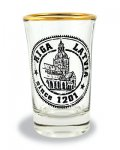 souvenir, gift, suvena, glass, Latvia, shot glass, Riga, Dome, Doma
