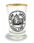 souvenir, gift, suvena, glass, Latvia, shot glass, Riga, powder tower